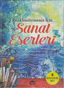 Renklendirmeniz İçin Sanat Eserleri 8 Kitap