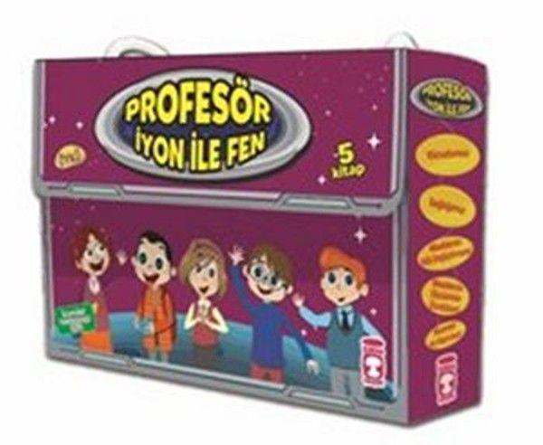 Profesör İyon İle Fen 5 Kitap Takım
