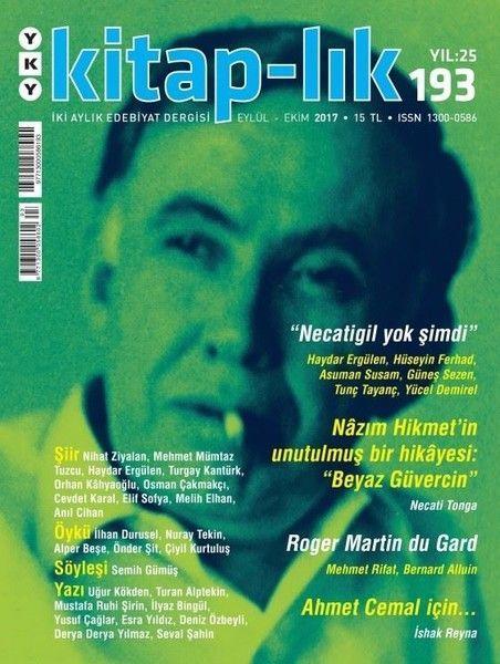 Kitap lık Sayı 193 İki Aylık Edebiyat Dergisi