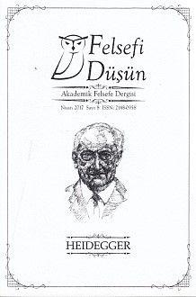 Felsefi Düşün Sayı 8 Heidegger