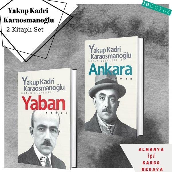 Yakup Kadri Karaosmanoğlu 2 Kitaplı Set