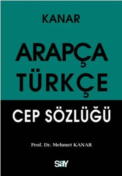 Arapça Türkçe Cep Sözlüğü