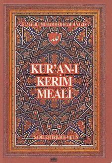 Kur'an ı Kerim Meali Hafız Boy Metinsiz Meal