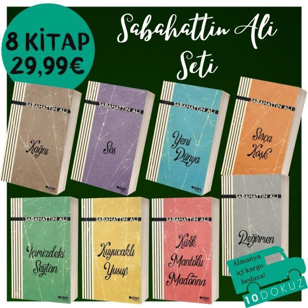 Sabahattin Ali 8 Kitaplı Set