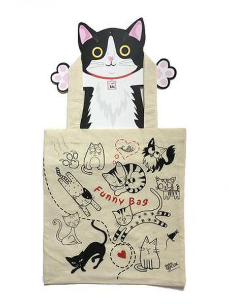 Funny Bag Çanta Sevimli Kediler