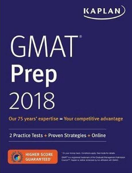 Kaplan 2018 GMAT Prep