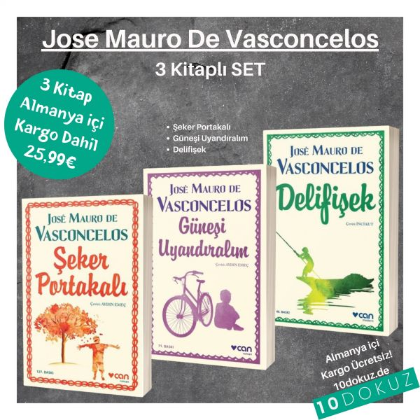Jose Mauro De Vasconcelos 3' lü SET