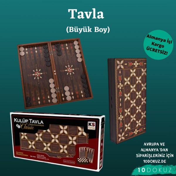 Tavla - Büyük Boy