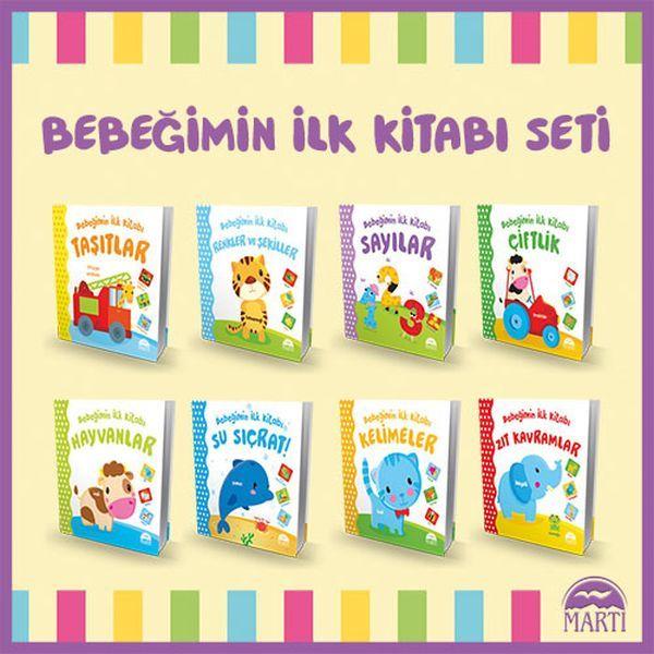 Bebeğimin İlk Kitabı Serisi 8 Kitap 176 00 TL