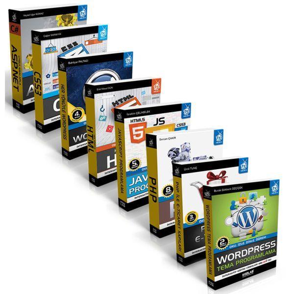 Web Tasarım Seti 8 Kitap