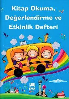 Kitap Okuma Değerlendirme ve Etkinlik Defteri Erkek Çocukları İçin