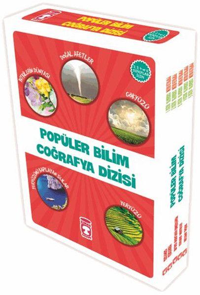 Coğrafya Dizisi 5 Kitap Takım