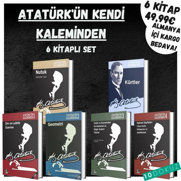 Atatürk'ün Kaleminden 6 Kitaplı Set