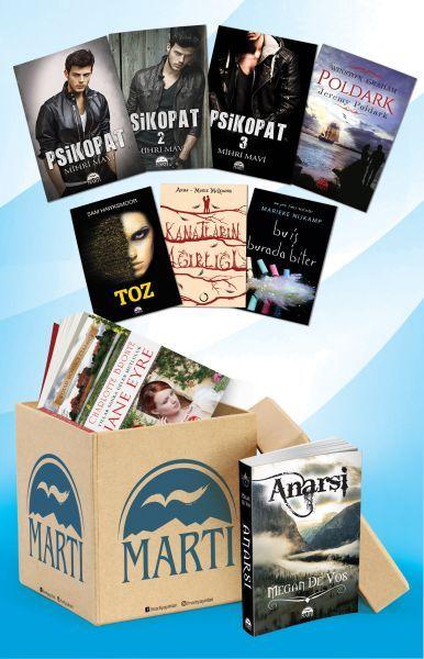 Martı Ciltli Kitaplar Koli Kampanya Seti 32 Kitap