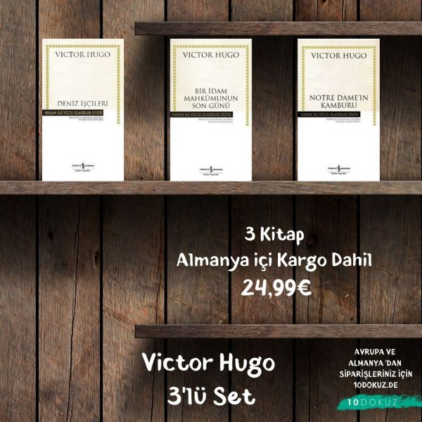 Victor Hugo 3'lü SET