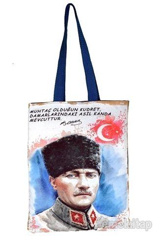 Atatürk 3 Bez Çanta