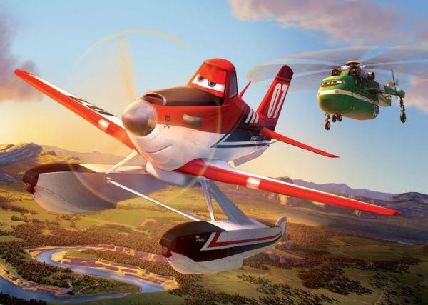 Planes Puzzle 100 Parça PL 714