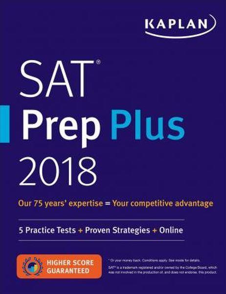 Kaplan SAT Prep Plus 2018