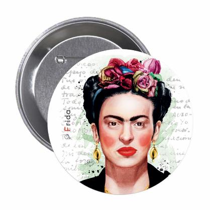 Frida Kahlo 1 - Button