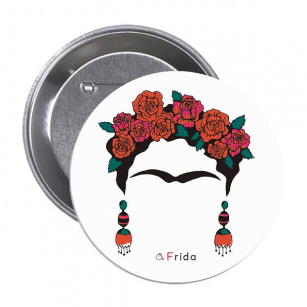 Frido Kahlo 3 - Button