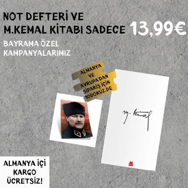 M.Kemal Kitap ve Not Defteri SET