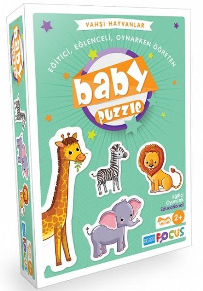 Baby Puzzle - Vahşi Hayvanlar