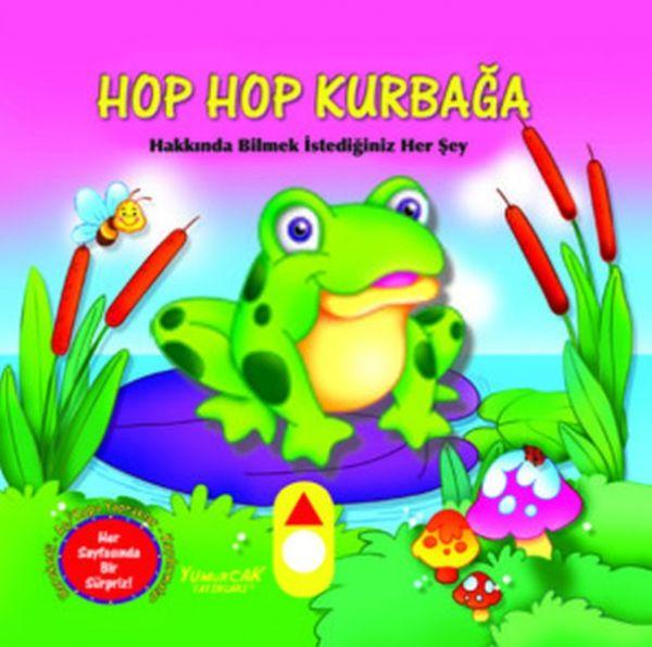 Hop Hop Kurbağa Hareketli Kitap
