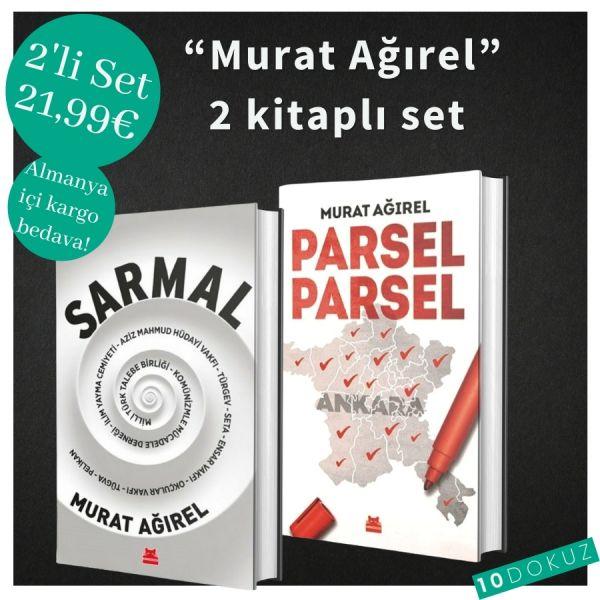 Murat Ağırel 2 Kitaplı SET
