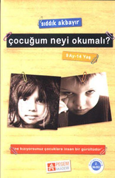 Çocuğum Neyi Okumalı 9 Ay 14 Yaş