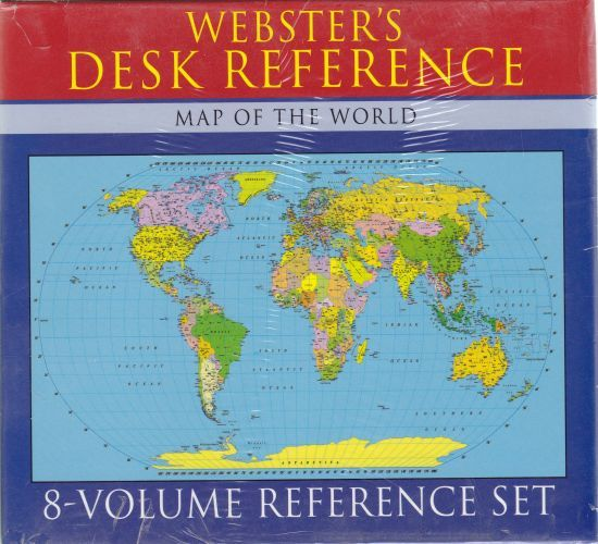 Websters Desk Reference 8 Volume Reference Set