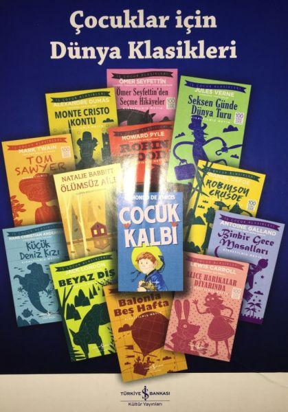 Kültür Yayınları Çocuk Klasikleri Seti 24 Kitap