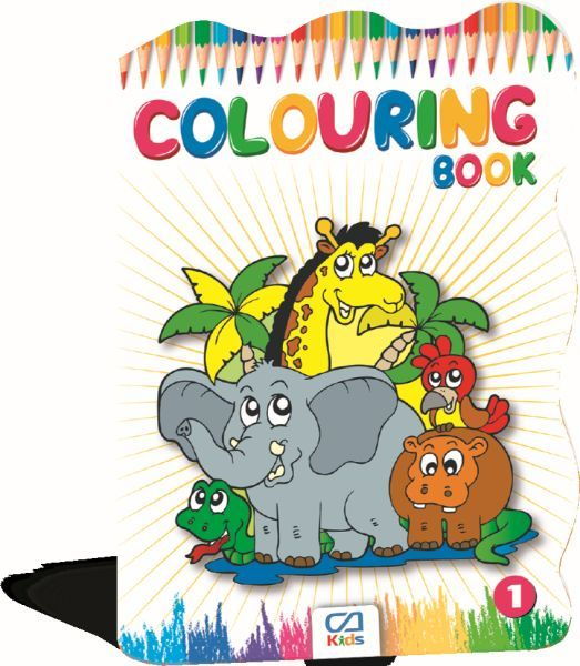 Colourıng Book 1 CA.1011
