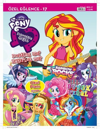 My Little Pony Dergisi Nisan