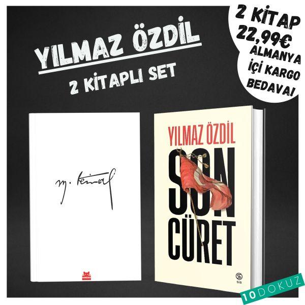 Yılmaz Özdil 2 Kitaplı Set (Son Cüret ve Mustafa Kemal)