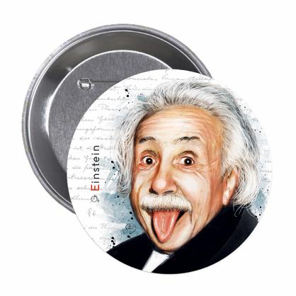 Einstein - Button