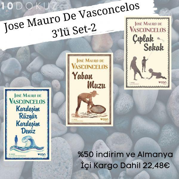 Jose Mauro De Vasconcelos 3'lü SET - 2