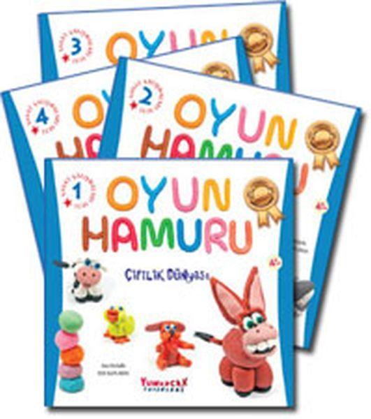 Oyun Hamuru Eğitim Seti 4 Kitap