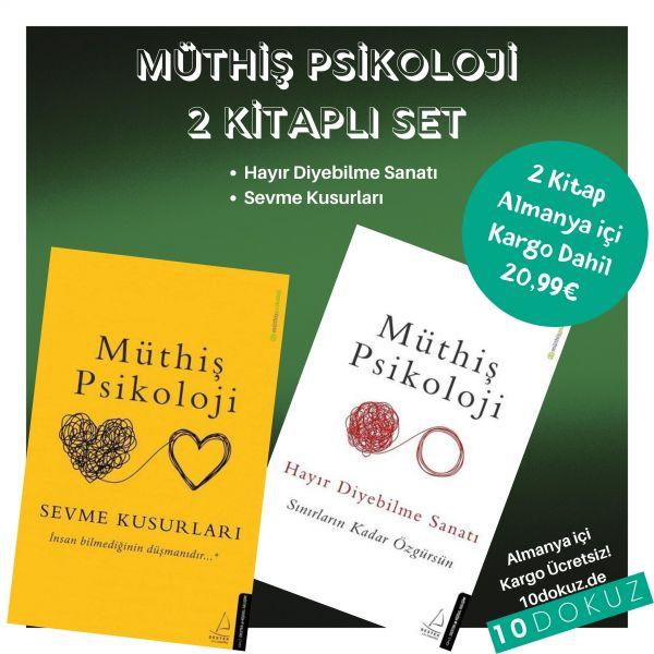 Müthİş Psİkolojİ 2 KİtaplI SET