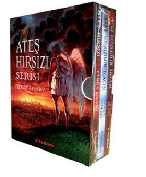 Ateş Hırsızı Serisi Seti 3 Kitap
