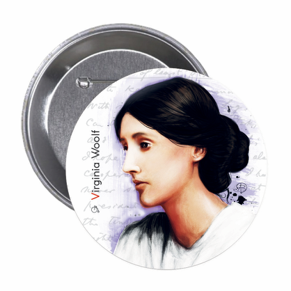 Virginia Woolf - Button