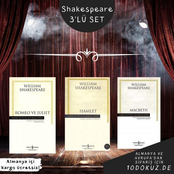 Shakespeare 3'lü SET