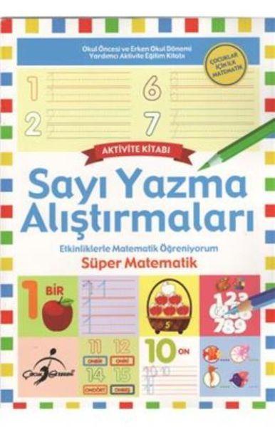 Sayı Yazma Alıştırmaları Çocuklar İçin İlk Matematik