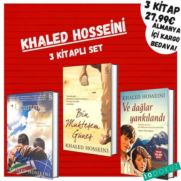 Khaled Hosseini 3 Kitaplı Set