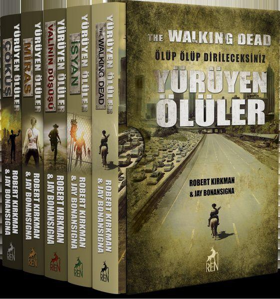 Yürüyen Ölüler 5 Kitap Takım