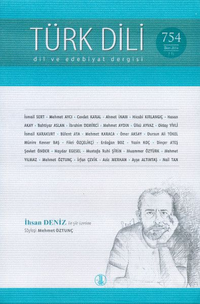 Türk Dili Dergisi Sayı 754
