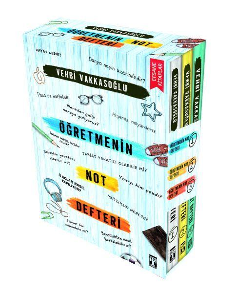 Öğretmenin Not Defteri Set 3 Kitap
