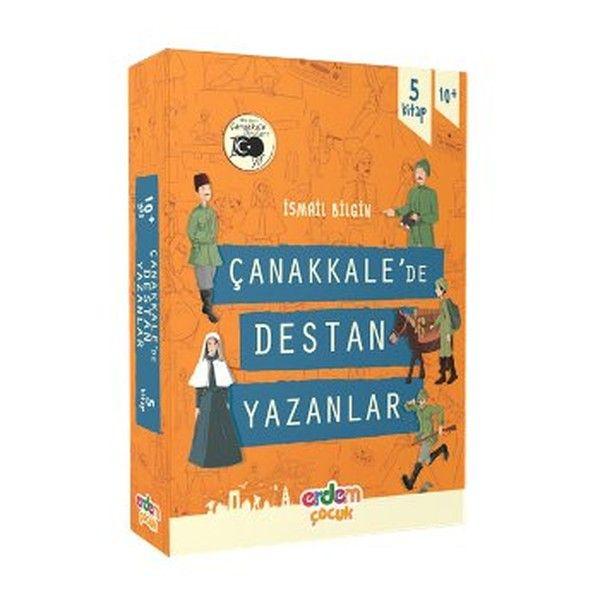 Çanakkale'de Destan Yazanlar Dizisi 5 Kitap Takım