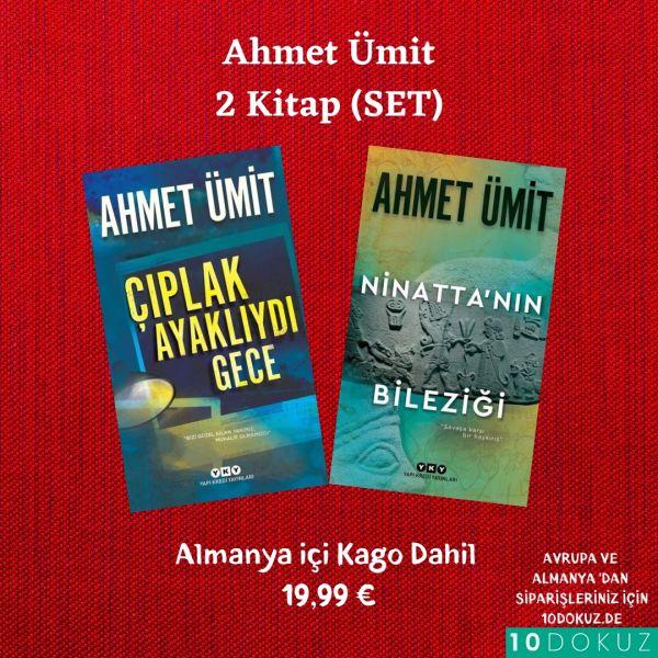 Ahmet Ümit 2 kitap (SET 1)
