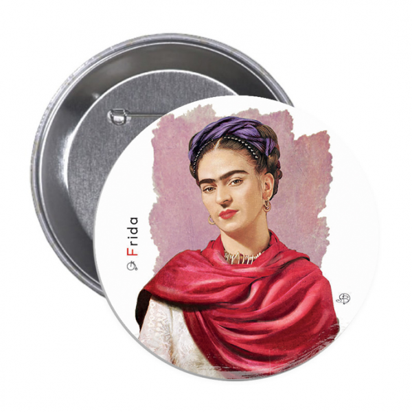 Frida Kahlo 4 - Button