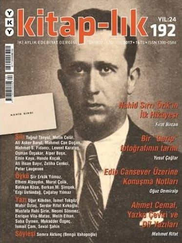 Kitap lık Sayı 192 İki Aylık Edebiyat Dergisi